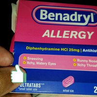 Benadryl Allergy Relief uploaded by Kissa H.