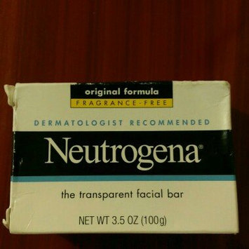 Photo of Neutrogena® Fragrance Free Facial Cleansing Bar uploaded by Andreina C.