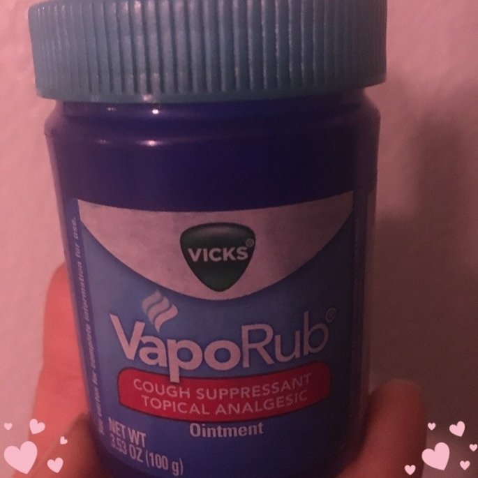 Vicks VapoRub Ointment Lemon Scent uploaded by Joice M.