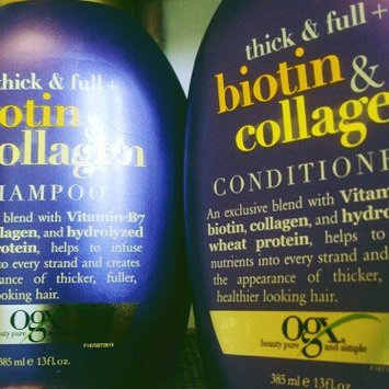 Photo of OGX® Biotin & Collagen Shampoo uploaded by J3551C4