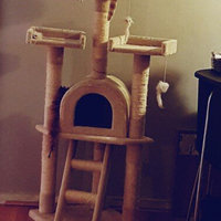 Kitty Mansions Boston Cat Tree - Brown uploaded by Janet C.
