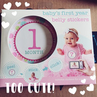 Stepping Stones Baby's First Year Belly Stickers (Girl) uploaded by Nicole S.