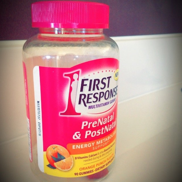 First Response PreNatal & PostNatal Multivitamin Gummy Orange Punch 90 Gummies uploaded by Carling S.