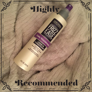 John Frieda Frizz-Ease Daily Nourishment Leave-In Conditioning Spray uploaded by Drucilla J.