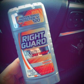 Men's: Right Guard 2.6 oz Invisible Solid Antiperspirant & Deodorant Silver Mirage uploaded by Kayla R.