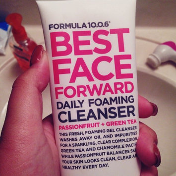 Photo of Formula 10.0.6 Best Face Forward Daily Foaming Cleanser, 5 fl oz uploaded by Heather G.