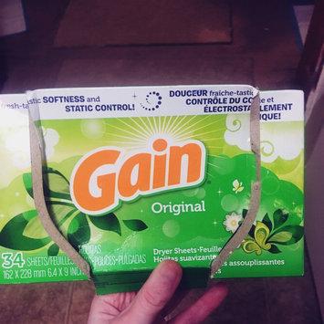 Photo of Gain® Original Fabric Softener Sheets 34 ct Box uploaded by Teran F.