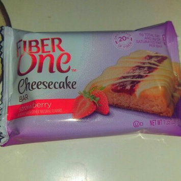Photo of Fiber One Strawberry Cheesecake Bar uploaded by Selina O.