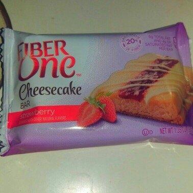 Fiber One Cheesecake Bar Strawberry uploaded by Selina O.