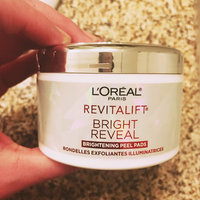 L'Oréal Paris RevitaLift® Bright Reveal Brightening Daily Peel Pads uploaded by Sabrina M.