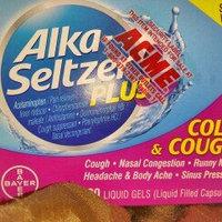 Alka-Seltzer Plus Cold & Cough Formula Liquid Gels - 20 CT uploaded by Teresa D.