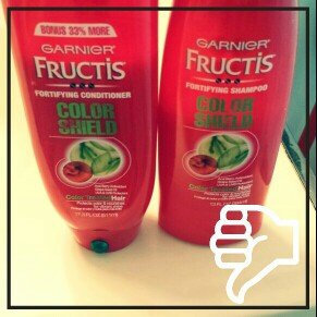 Photo of Garnier Fructis Color Shield Complete Defense Shampoo and Conditioner uploaded by Amy M.