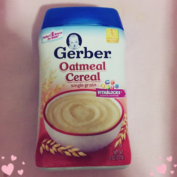 Photo of Gerber® Oatmeal Cereal 8 oz. Canister uploaded by Arwa M.