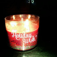 Bath & Body Works 1 X Bath and Body Works HOLIDAY WISH 3 Wick Scented Candle, 2014 - 14.5 Oz uploaded by Kindra M.