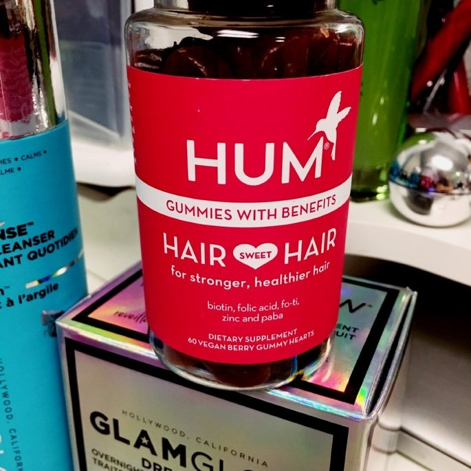 Hum Nutrition Hair Sweet Hair 60 Vegan berry gummy hearts uploaded by Shauna C.