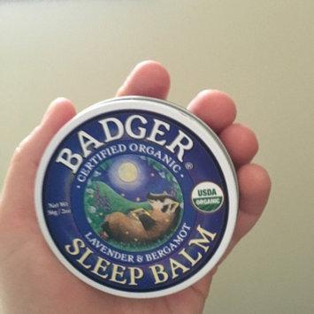 Photo of BADGER® Calming Sleep Enhancer Sleep Balm uploaded by Samantha P.