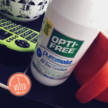 Opti-Free PureMoist Disinfecting Solution uploaded by Lauren T.