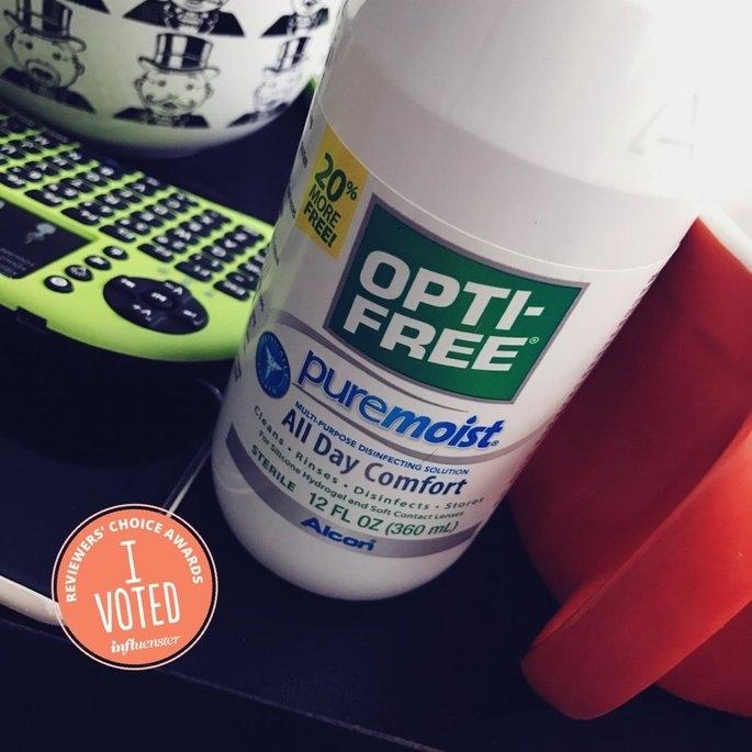 Opti-Free PureMoist Disinfecting Solution uploaded by Lauren T.
