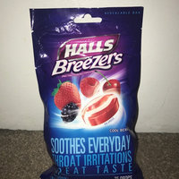 Halls Breezers: Cool Berry Non-Mentholated Pectin Throat Drops uploaded by Sara M.