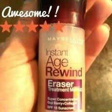 Maybelline Instant Age Rewind Eraser Foundation Buff Beige uploaded by Amanda B.