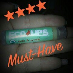 Photo of Eco Lips Pure & Simple Lip Balm Kiwi Strawberry uploaded by Laura V.