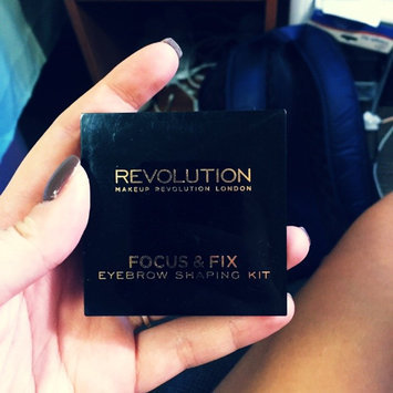 Photo of Makeup Revolution Focus & Fix Brow Kit uploaded by Megan M.