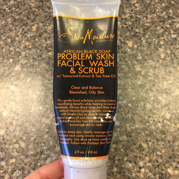 SheaMoisture African Black Soap Problem Skin Facial Wash & Scrub uploaded by Elisha S.