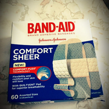 Photo of Band-Aid Adhesive Bandages Sheer Strips Extra Large - 10 CT uploaded by Janine T.