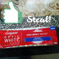 Colgate Optic White Platinum High Impact Toothpaste uploaded by Ruth D.