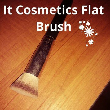 Photo of IT Cosmetics® Heavenly Luxe™ Flat Top Buffing Foundation Brush #6 uploaded by Courtney M.