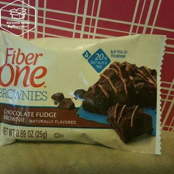 Photo of Fiber One 90 Calorie Chocolate Fudge Brownie uploaded by Jonelle D.
