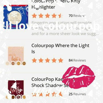 Colourpop Where the Light Is uploaded by cristina d.
