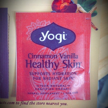 Photo of Yogi Tea Cinnamon Vanilla Healthy Skin uploaded by Faith O.