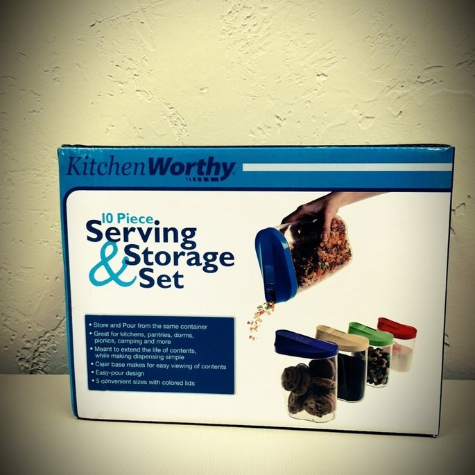 KitchenWorthy 5-Piece Serving and Storage Set (Case of 20) uploaded by Emily D.