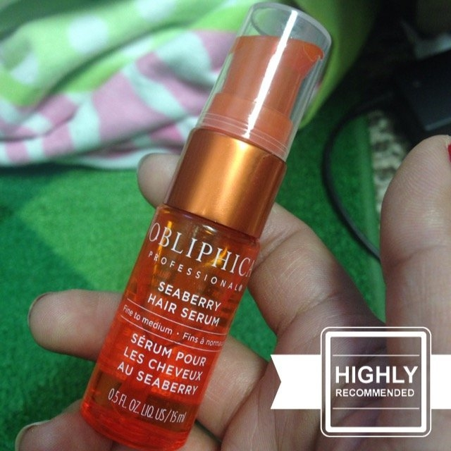 Obliphica Professional Seaberry Hair Serum uploaded by Karla  I.