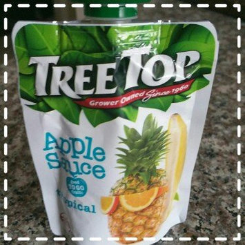 Photo of Tree Top® Tropical Apple Sauce 3.2 oz. Pouch uploaded by briseida S.