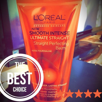 L'Oréal® Paris Advanced Haircare Smooth Intense Ultimate Straight Straight Perfecting Balm 5.1 fl. oz. Tube uploaded by Denisha M.