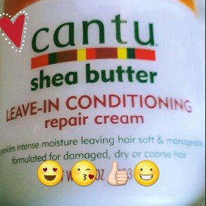 Cantu Shea Butter Leave-In Conditioning Repair Cream uploaded by Naturally N.