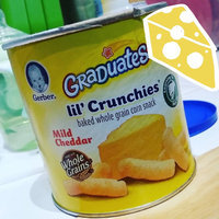 Gerber® Lil' Crunchies® | Mild Cheddar Snack Cup uploaded by Amanda J.