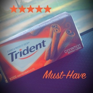Trident Cinnamon Gum uploaded by Alana R.