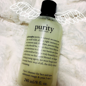 philosophy purity made simple one-step facial cleanser uploaded by Yasmin A.