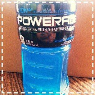 Photo of Powerade Mountain Blast Sports Drink 32 oz uploaded by Sara Y.