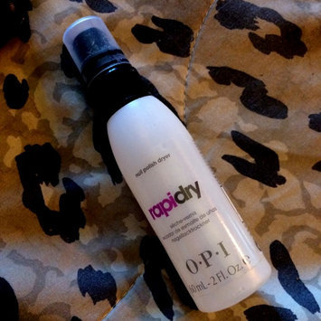 Photo of OPI Rapidry Nail Polish Dryer Spray uploaded by Tamar M.
