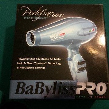 Photo of Babyliss Pro Nano Titanium Portofino Hair Dryer uploaded by Amber D.