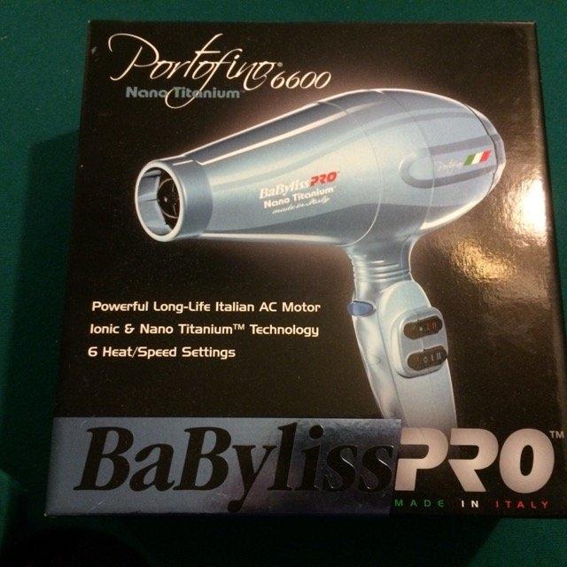 Babyliss Pro Nano Titanium Portofino Hair Dryer uploaded by Amber D.