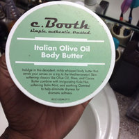 c. Booth Italian Olive Oil Body Butter uploaded by Tomica W.