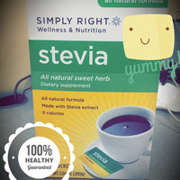 Simply Right Stevia All Natural Sweet Herb Dietary Supplement - 200 ct. uploaded by Teonne C.