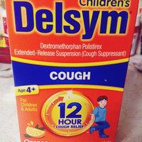 Delsym Cough Suppressant Liquid Orange-Flavored uploaded by Kara K.