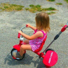 Radio Flyer Kid's 4 in 1 Trike - Red uploaded by Jill S.
