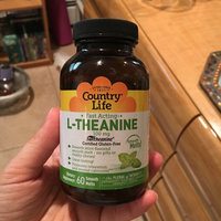 Country Life L-Theanine Mint - 100 mg - 60 Smooth Melts uploaded by Vanessa R.